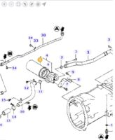 Filtre Hydraulique 6241072M1