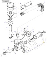 Element filtrant a air 3824032M1