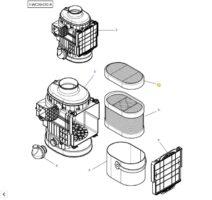 Filtre a air sec 4288979M1