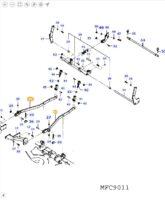 Bras de relevage central 4267823M92